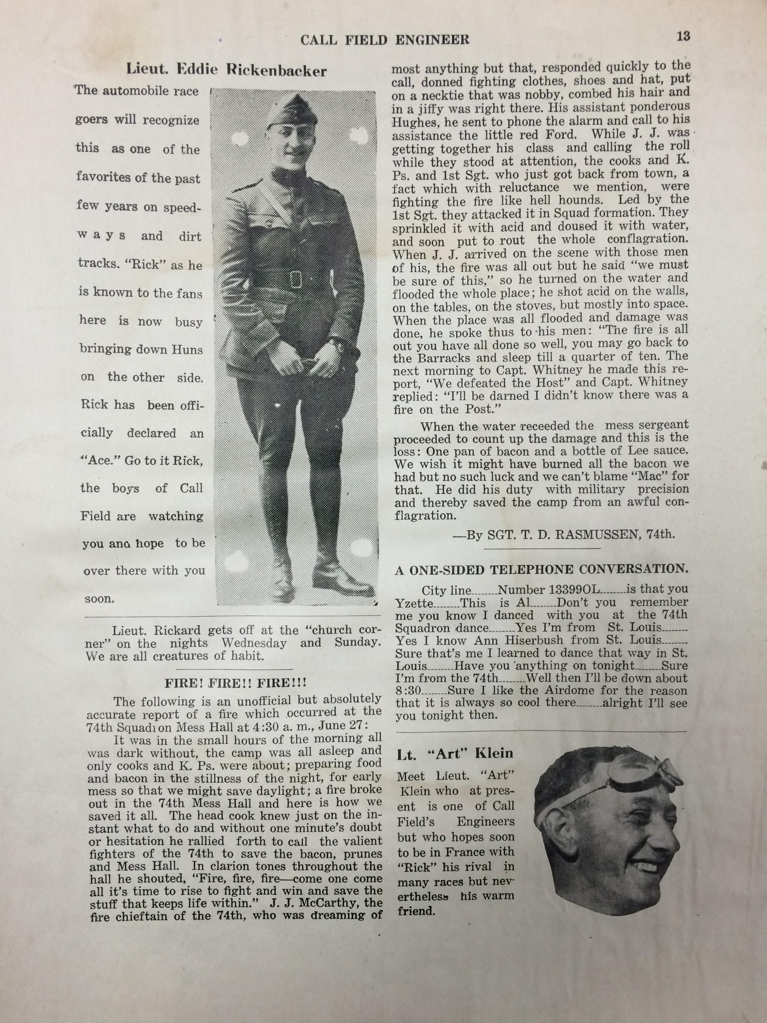 Image 15 July 1918 Engineer