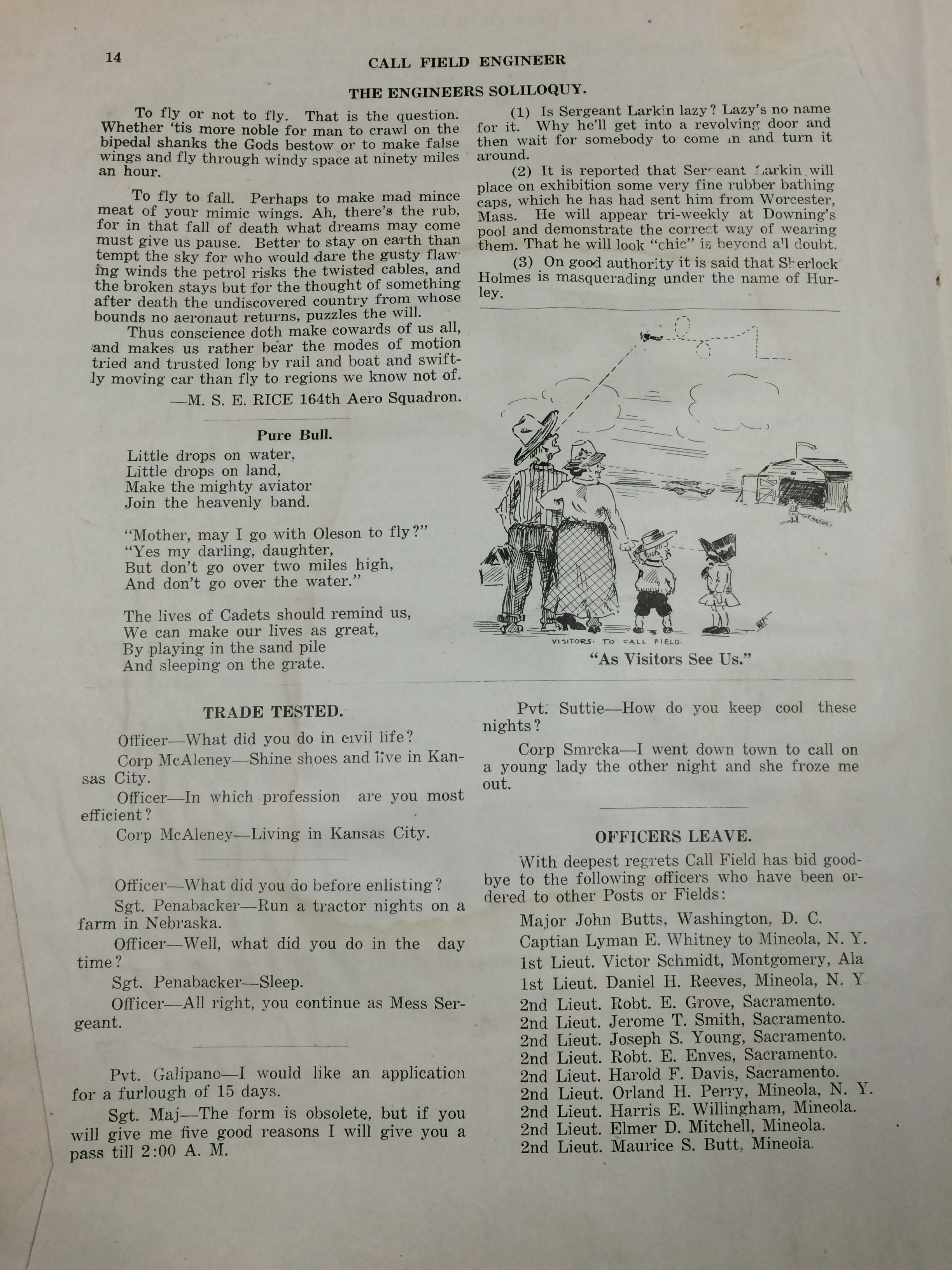 Image 16 July 1918 Engineer