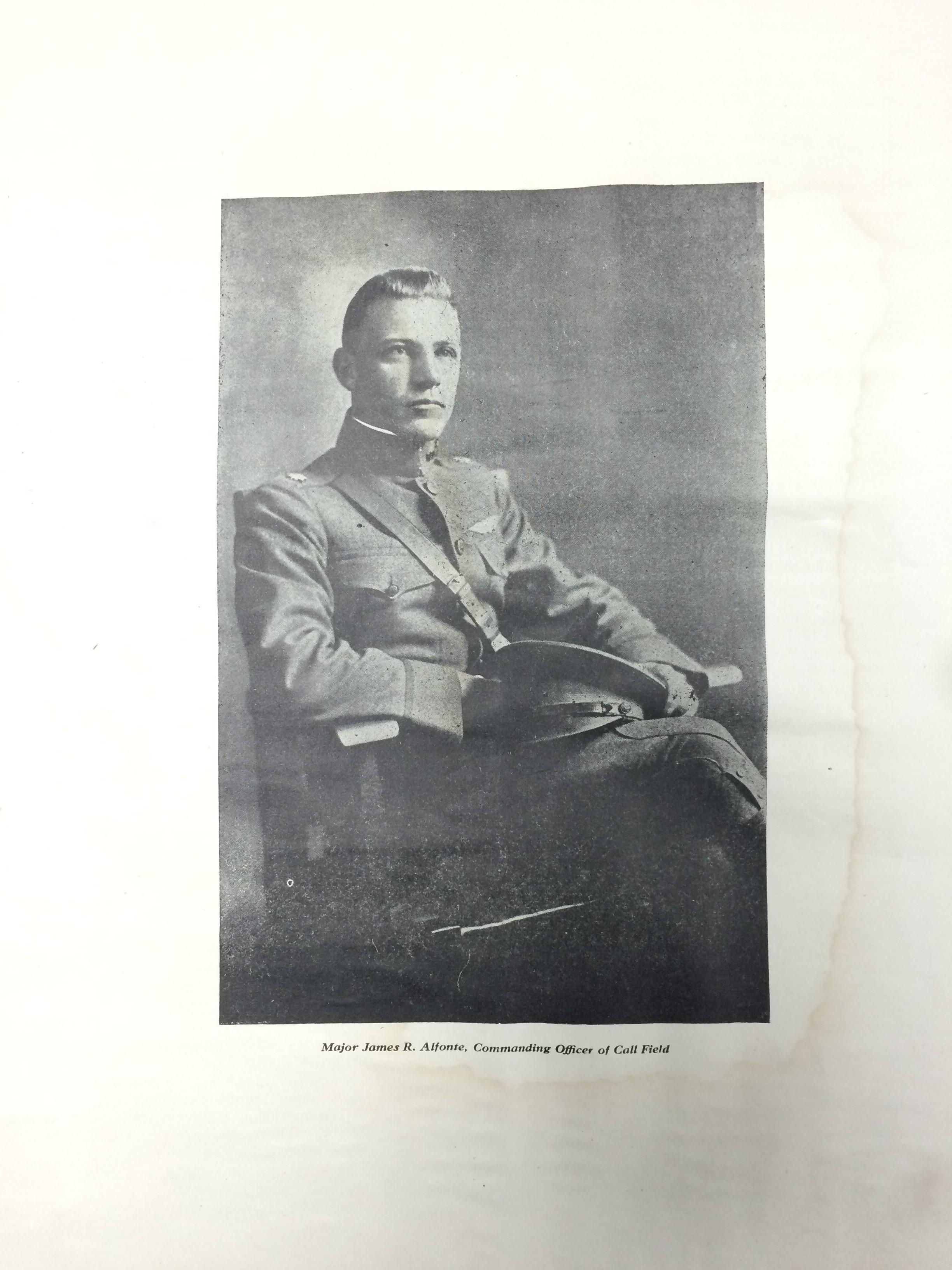 Image 4 August 15, 1918 Call Field Engineer